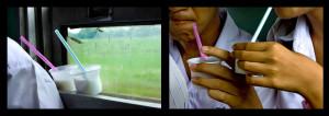 Il viaggio di due simpatiche cannucce - Thailandia