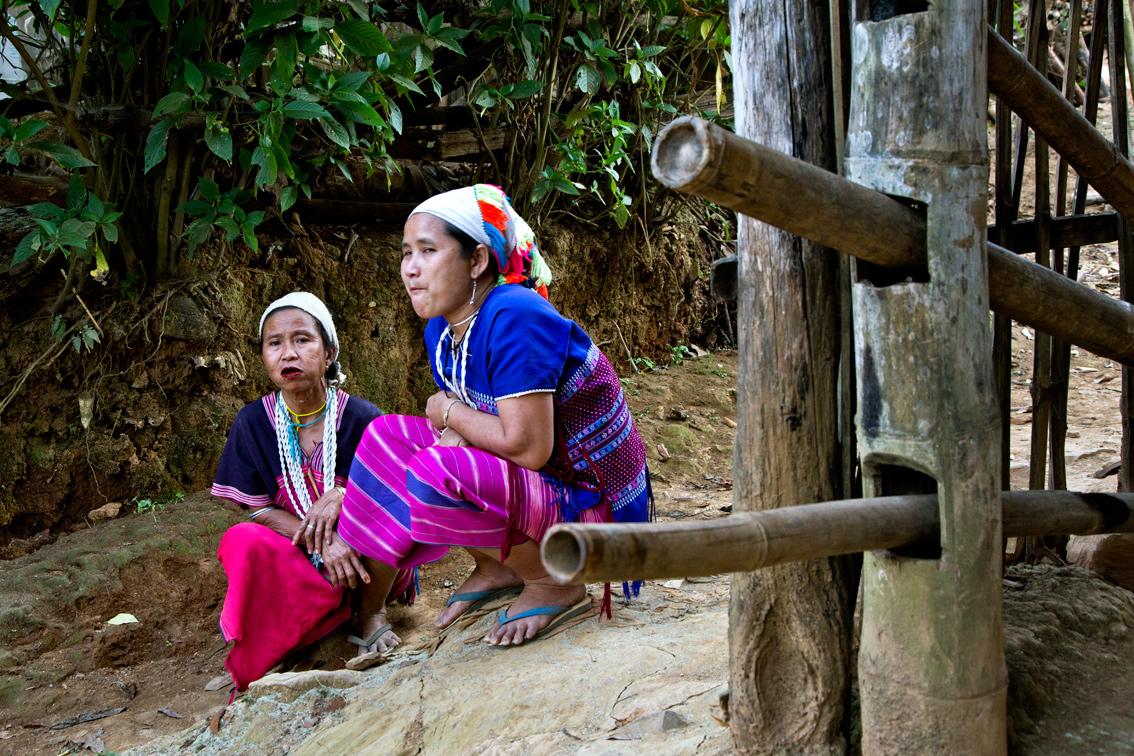Karen village -Thailand