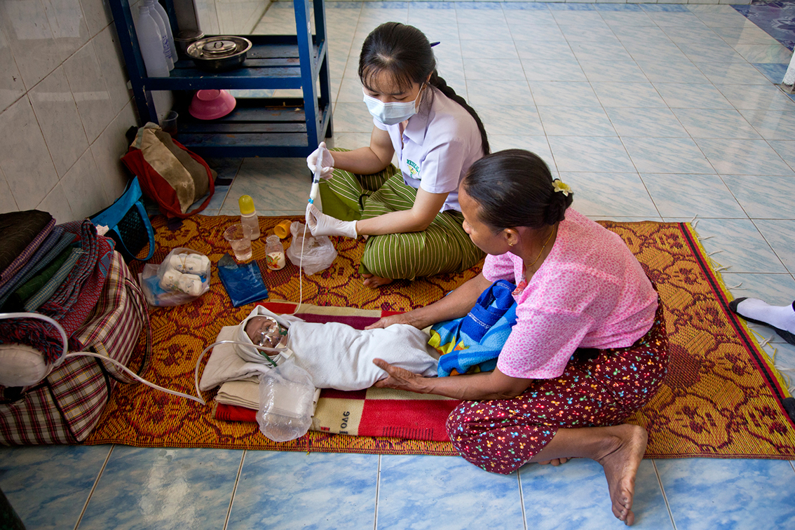 Healthcare: A human right for Burmese migrants
