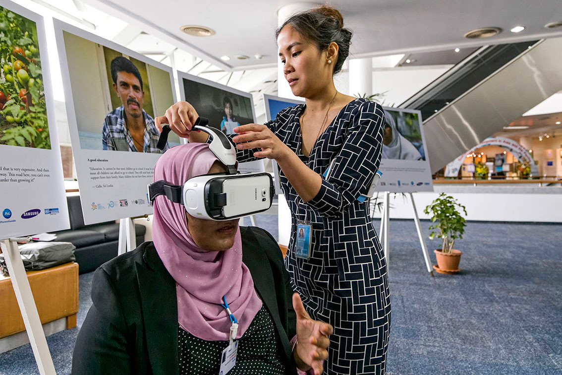 VIRTUAL REALITY AT THE UNITED NATIONS IN BANGKOK