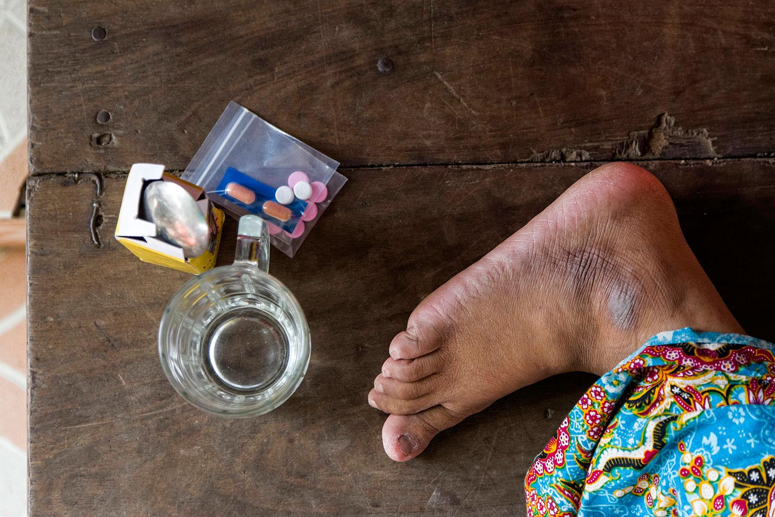 ANTI-HIV EFFORTS IN A SLUM IN PHNOM PENH